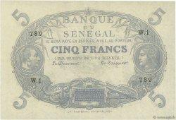 5 Francs Cabasson type 1874 SÉNÉGAL  1874 P.A1 pr.NEUF