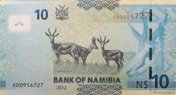 10 Namibia Dollars NAMIBIE  2012 P.11a NEUF