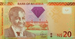 20 Namibia Dollars NAMIBIE  2012 P.12a NEUF