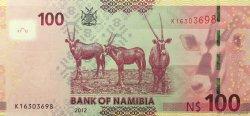 100 Namibia Dollars NAMIBIE  2012 P.14 NEUF