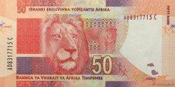 50 Rand AFRIQUE DU SUD  2012 P.135 NEUF