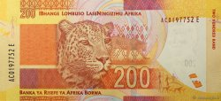 200 Rand AFRIQUE DU SUD  2012 P.137 NEUF