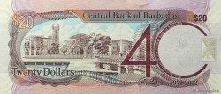 20 Dollars BARBADE  2012 P.72 pr.NEUF