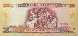 500 Dollars JAMAÏQUE  2012 P.91 NEUF