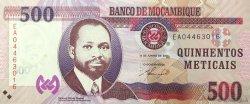 500 Meticais MOZAMBIQUE  2011 P.152 NEUF