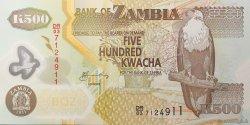 500 Kwacha ZAMBIE  2011 P.43(h) NEUF