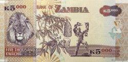 5000 Kwacha ZAMBIE  2012 P.45h NEUF