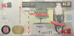 2 Kwacha ZAMBIE  2012 P.49 NEUF