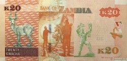 20 Kwacha ZAMBIE  2012 P.52a NEUF