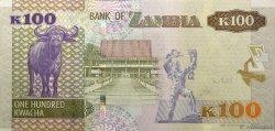 100 Kwacha ZAMBIE  2012 P.54 NEUF