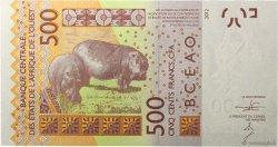 500 Francs SÉNÉGAL  2012 P.New NEUF
