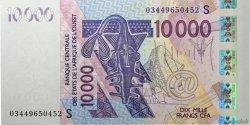 10000 Francs GUINÉE BISSAU  2003 P.918Sa