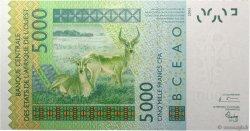 5000 Francs BURKINA FASO  2003 P.317Ca pr.NEUF