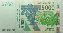 5000 Francs TOGO  2004 P.817Tb NEUF