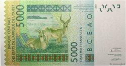 5000 Francs NIGER  2005 P.617Hc NEUF