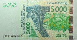 5000 Francs SÉNÉGAL  2003 P.717Ka SPL