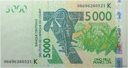 5000 Francs SÉNÉGAL  2006 P.717Kd NEUF
