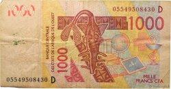 1000 Francs MALI  2005 P.415Dc TB