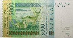 5000 Francs MALI  2003 P.417Da NEUF