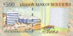 500 Kwacha MALAWI  2011 P.56c NEUF