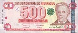 500 Cordobas NICARAGUA  2002 P.195 NEUF