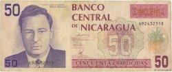 50 Cordobas NICARAGUA  1991 P.177 TB
