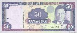 50 Cordobas NICARAGUA  2001 P.189A SPL