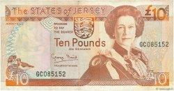 10 Pounds JERSEY  1993 P.22a TB+