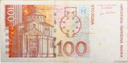 100 Kuna CROATIE  2002 P.41 TTB