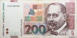 200 Kuna CROATIE  2002 P.42