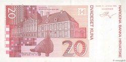 20 Kuna CROATIE  1993 P.30a TTB