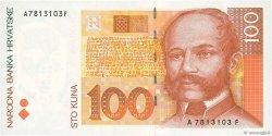 100 Kuna CROATIE  1993 P.32a SPL+