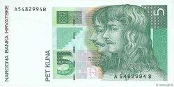 5 Kuna CROATIE  1993 P.28a TTB
