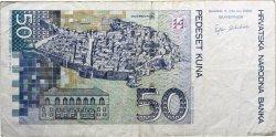 50 Kuna CROATIE  2002 P.40 TB