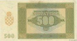 500 Kuna CROATIE  1941 P.03 pr.SUP