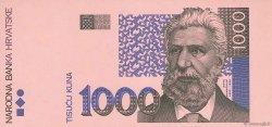 1000 Kuna CROATIE  1993 P.35 SPL