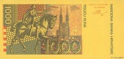 1000 Kuna CROATIE  1993 P.34 NEUF