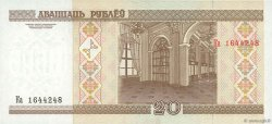 20 Rublei BIÉLORUSSIE  2001 P.33 NEUF