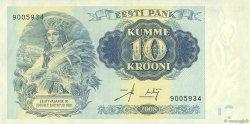 10 Krooni ESTONIE  2008 P.90 SPL