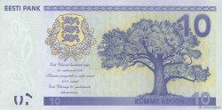 10 Krooni ESTONIE  2008 P.90 NEUF