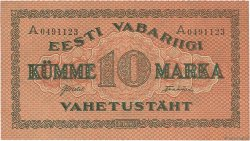 10 Marka ESTONIE  1922 P.53b SPL