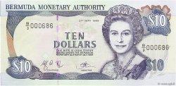 10 Dollars BERMUDES  1999 P.42d NEUF