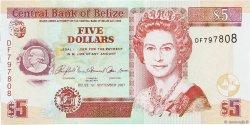 5 Dollars BELIZE  2007 P.67c pr.NEUF