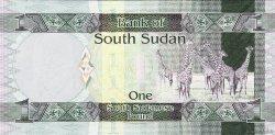 1 Pound SOUDAN DU SUD  2011 P.05 NEUF