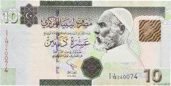 10 Dinars LIBYE  2011 P.73 NEUF