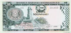 10 Shilin SOMALIE RÉPUBLIQUE DÉMOCRATIQUE  1975 P.18 SPL