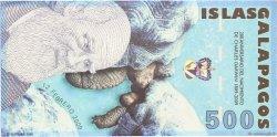 500 Nouveaux Sucres ÎLES GALAPAGOS  2009 P.- NEUF