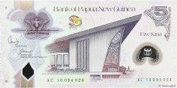 5 Kina PAPOUASIE NOUVELLE GUINÉE  2010 P.39 NEUF