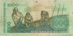 1000 Soles de Oro PÉROU  1976 P.116 TB