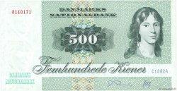 500 Kroner DANEMARK  1988 P.052d NEUF